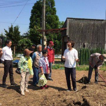 熊野市から「無肥料野菜の作り方」を学びに来てくれました