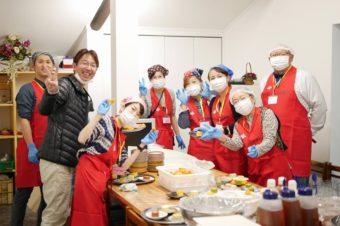 羽津地区子ども食堂がオープン。98食ご提供。