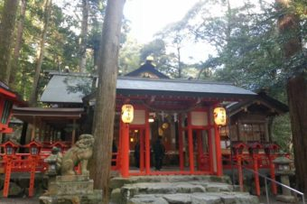 椿岸神社へ初詣