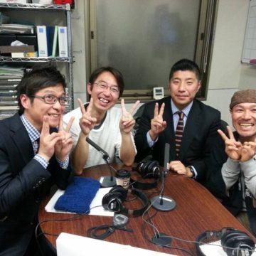 森ともひろ新市長とラジオ出演
