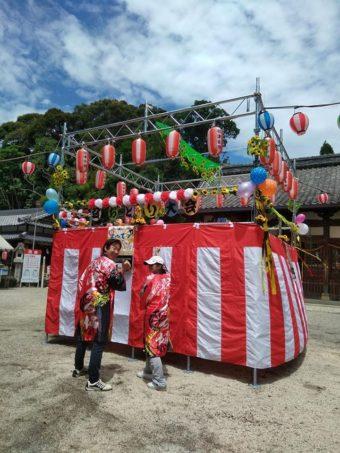 第三回羽津地区盆踊り大会